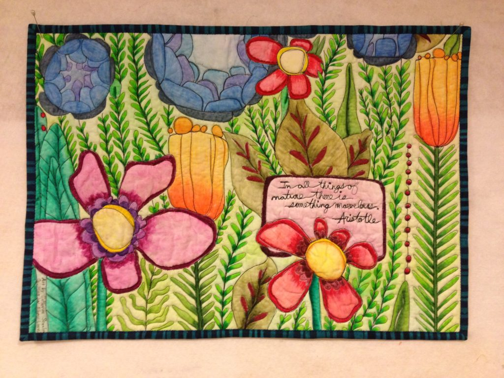 How To Paint Fabric Using Inktense Pencils Lovebug Studios