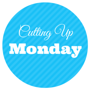 Cutting Up Monday Badge