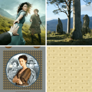 Outlander Digitally Printed Panel Set